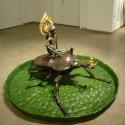 19-05Contemplative Peter Pan Bodhisattva Rides on Chalcosoma Atlas-3