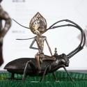 19-03Contemplative Peter Pan Bodhisattva Rides on Anoplophora Malasiaca-3