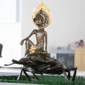 19-04Contemplative Peter Pan Bodhisattva Rides on Stag Beetle-1