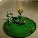 19-08Contemplative Peter Pan Bodhisattva Rides on Tenodera Aridifolia-3