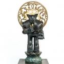 17-02Black OX Bodhisattva in Pure Land of Maha-1