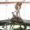 19-05Contemplative Peter Pan Bodhisattva Rides on Chalcosoma Atlas-1